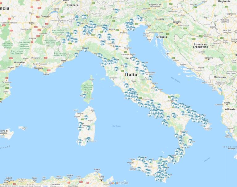 BarberApp - Mappa Affiliati